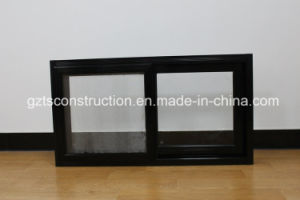 Three Traks Aluminum Sliding Window with Flyscreen pictures & photos