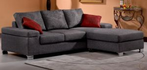 Modern Corner Sofa (666#) pictures & photos