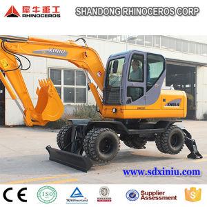 China 8 Ton 0.3cbm Bucket Wheel Excavator Xn80-9 for Sale pictures & photos
