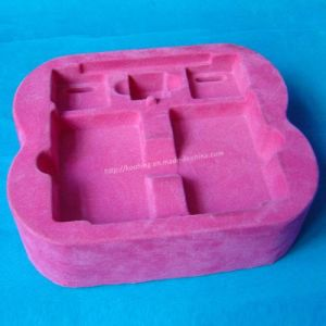 Pink Velvet Blister Packaging Container Tray pictures & photos