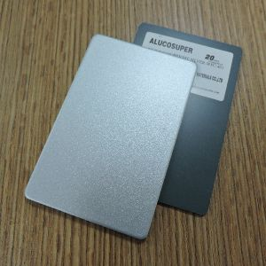 Bright Silver Wfc-401 PVDF Aluminum Composite Panel ACP pictures & photos