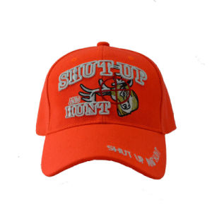 Fashion Acrylic Embroidery Baseball Cap in Orange Color (GKA01-F00064) pictures & photos