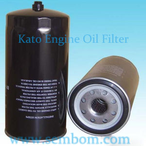 High Performance Engine Oil Filter for Kato Excavator/Loader/Bulldozer pictures & photos