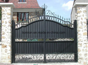 Irnamental Security Entance Iron Gates for House pictures & photos