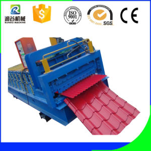 Triple-Layer Roof Shingles Roll Forming Machine pictures & photos