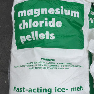 Common/Light Yellow Magnesium Chloride Flakes for Ice-Melt pictures & photos