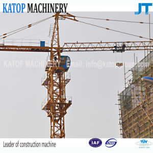Qtz63 Series 6t Load Tower Crane with 56m Boom Length From China Supplier pictures & photos