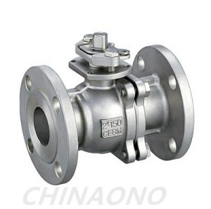 ANSI Floating or Trunnion Ball Flange Stainless Steel Ball Valve pictures & photos