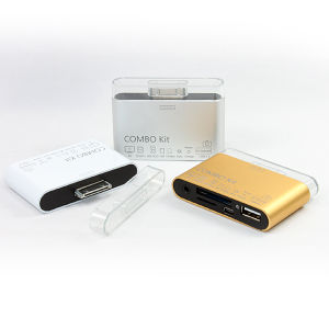 for Apple Combo Kit (white/glod/silver) for Apple iPad1/ iPad2/ iPad3 Series