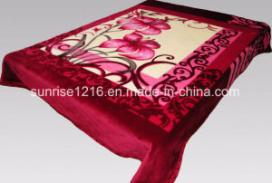 100% Polyester Soft Mink Blanket (Sr-B170228-3) pictures & photos