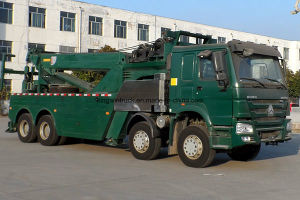 HOWO Brand Road Wrecker for Road Rescue pictures & photos