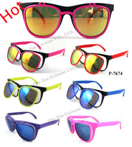Hot Promotional Plastic Sunglasses with FDA/CE/UV400