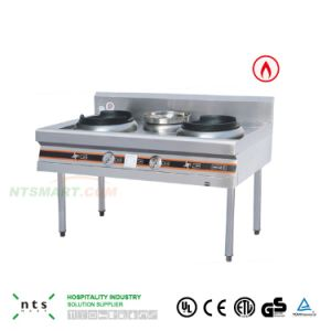 Stainless Steel Gas Stove for Chinese Kitchen Equipment pictures & photos