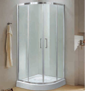 Easy Installation Sliding Door Tempered Shower Enclosure pictures & photos