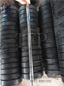 Rubber Impact Idler Used as Conveyor Roller System. pictures & photos