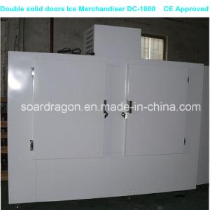 Indoor Ice Storage Freezer with Double Solid Doors pictures & photos