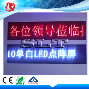 Factory Price LED Outdoor P10 Module Single Color Red Display Panel pictures & photos