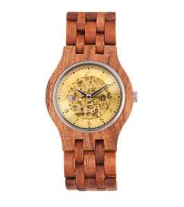 Hlw083 OEM Men′s and Women′s Wooden Watch Bamboo Watch High Quality Wrist Watch pictures & photos