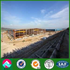Structural Steel Prefabricated Workshop in Africa (XGZ-SSW 294) pictures & photos