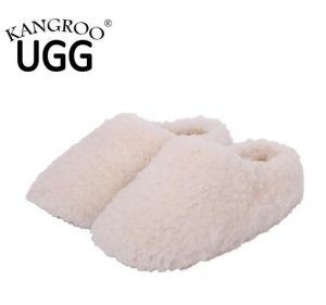 Australian Sheepskin Indoor Slipper with Soft Sole Causal Shoes Sand pictures & photos