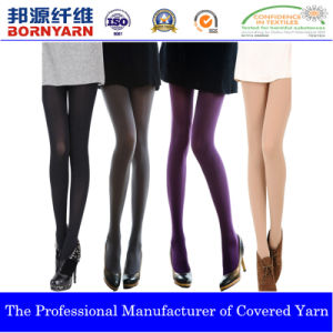Covered Yarn with Spandex and Polyester by Qingdao Bornyarn pictures & photos