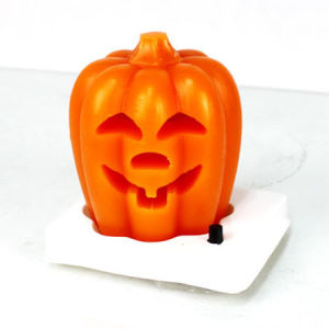 Pumpkin LED Candle, LED Flameless Candle, Halloween Candle pictures & photos