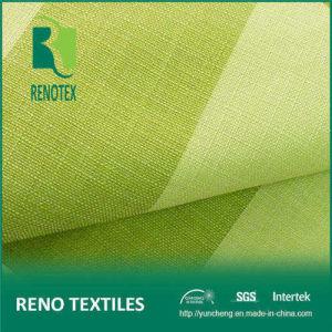 100% Polyester Upholstery Sofa Material Knitting Backing Linen Stripe Fabric