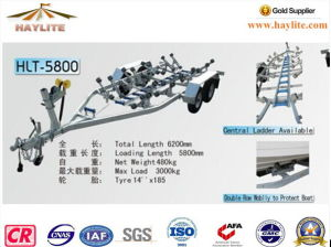 Haylite Boat Trailer-5800 Luxury Model Heavy Duty Style pictures & photos