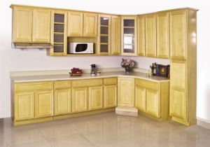 solid wood kitchen cabinet-maple