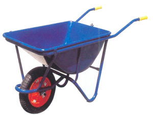 Factory Directly Sale Foldable Wheelbarrow with Poly Tray and Steel Frame pictures & photos