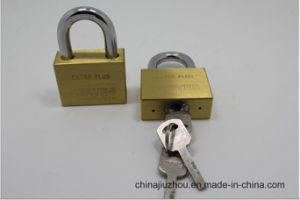 30mm Square Blade Brass Padlock with Vane Key (B630) pictures & photos