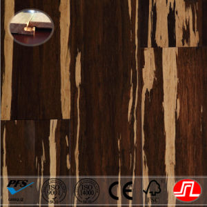 CE, ISO Certificated Tiger Color Strand Woven Bamboo Flooring