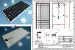 36V 305W 310W 315W 320W Monocrystalline Solar Panel PV Module with TUV Approved pictures & photos
