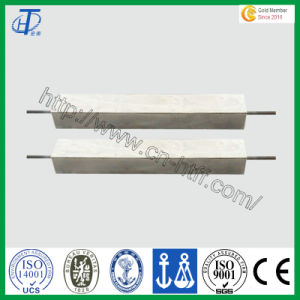 Zinc Alloy Anodes for Water Pipes