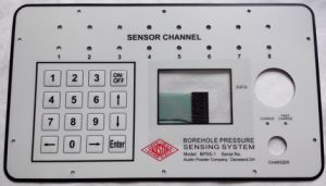 Customized Waterproof Membrane Keypad Switch with Printed Graphic Overlay pictures & photos