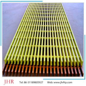 Walkable Plat Form Fiberglass Reinforced Plastic Grating Panels pictures & photos