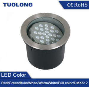 High Lumen CREE LED Chip 24W Beam Angle Adjustable 24W LED Underground Light pictures & photos
