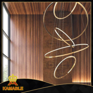Haing Ring Stainless Steel LED Pendant Lamp (KAF6050) pictures & photos