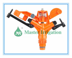 "High Quality 3/4"" or 1"" POM Impuse Garden Plastic Irrigation Sprinkler (Ms-9806)"