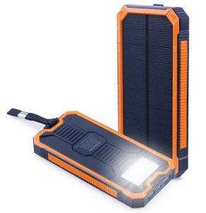 Solar USB Emergency Travel Mobile Phone Power Battery Universal Charger pictures & photos