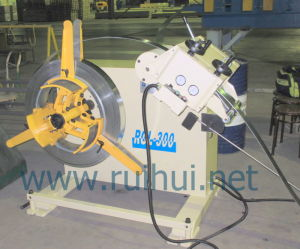 China Salable 0.3-3.2mm Material Uncoiler with Straightener (RGL-300) pictures & photos