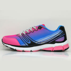 Wholesale High Quality Children Running Sports Shoes Pink Running Shoes pictures & photos