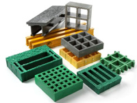 High Strength FRP/GRP Molded Gratings/Fiberglass pictures & photos