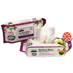 pH Balance Bamboo Wet Wipes Baby Wipes Flushable Wipes pictures & photos