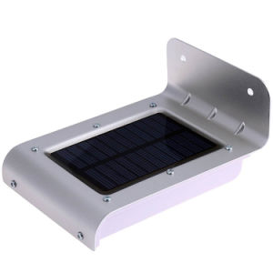 Outdoor 0.55W LED Solar Garden Light 3 Modes 100lm Sensitive Motion Sensor Wall Lamp pictures & photos