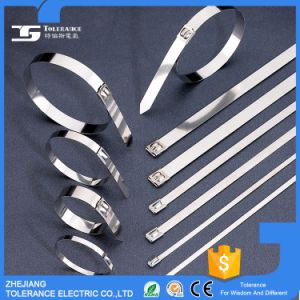 Cable Accessories Anti-Corrosion Releasable Steel Cable Tie