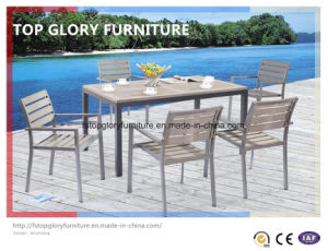 Outdoor Aluminium Frame Polywood Furniture Dining Set (TG-1751) pictures & photos