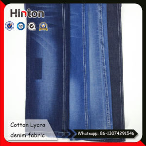 32s Slub Denim Fabric 98% Cotton 2% Spandex Denim Shirt Fabric pictures & photos