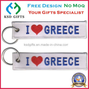 Custom Polyester Cheap Promotion Remove Before Flight Key Chains pictures & photos
