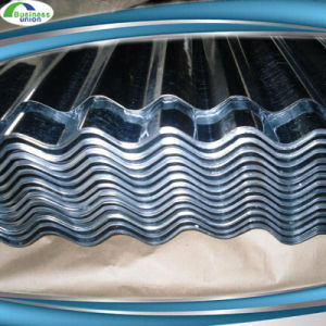 Prime 28 Guage SGCC Zinc Iron Sheet Corrugated Roofing Sheet pictures & photos